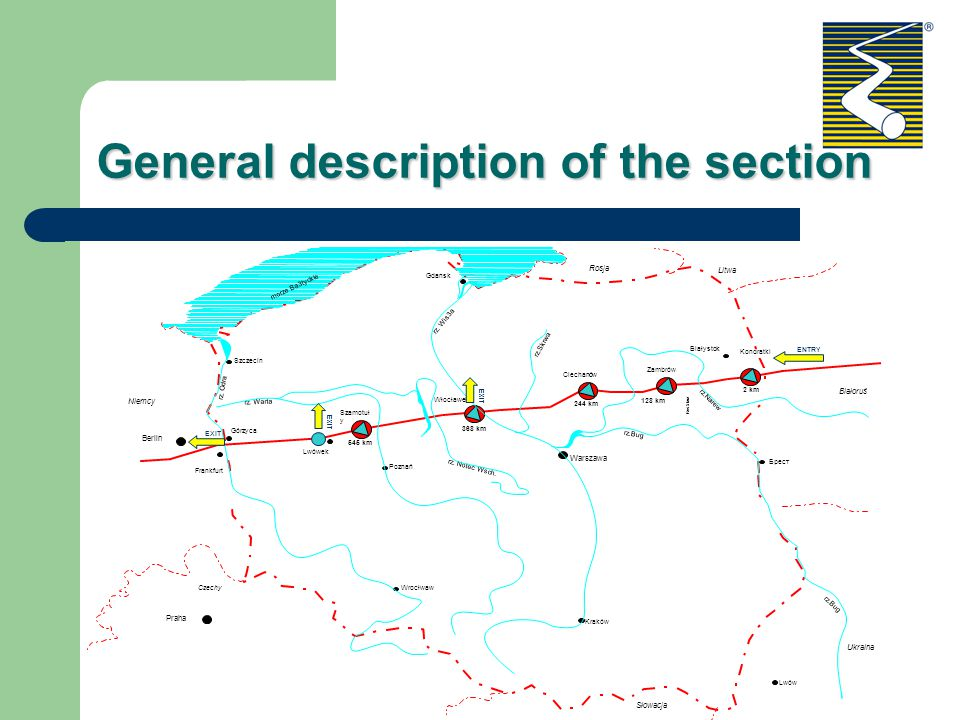 General description of the section