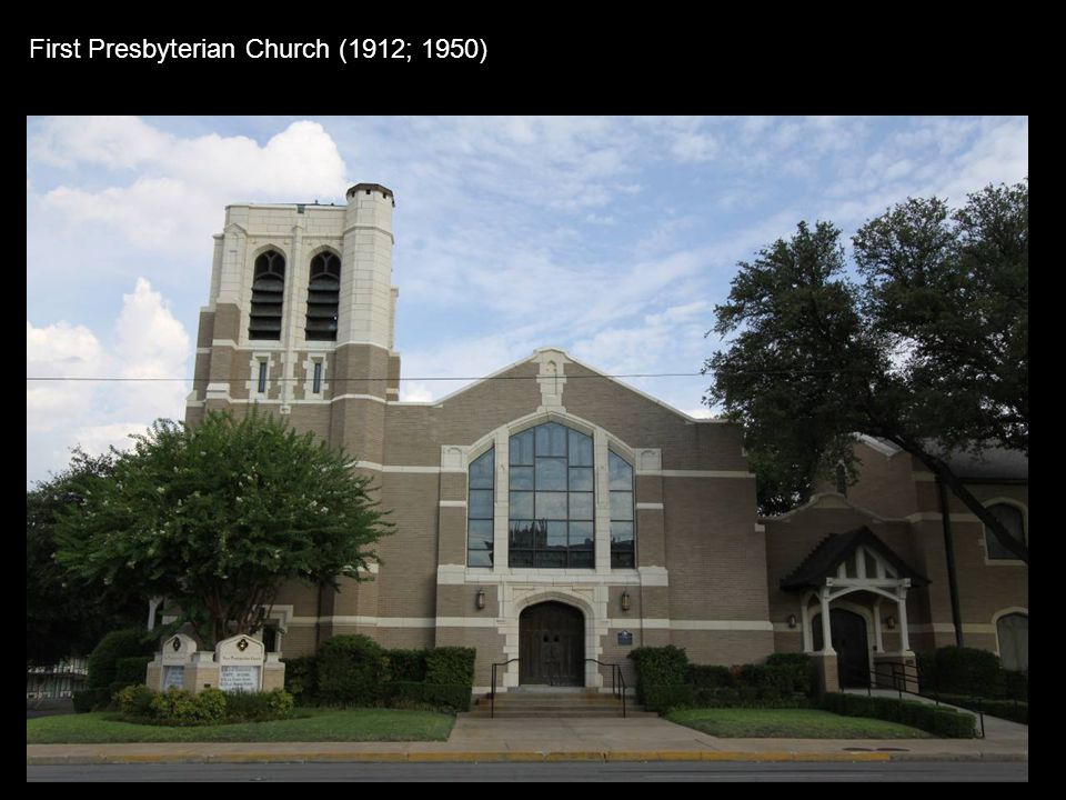 First Presbyterian Church (1912; 1950)