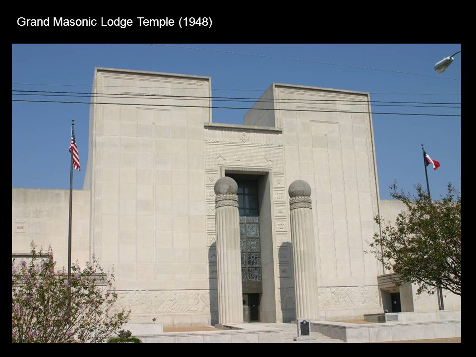 Grand Masonic Lodge Temple (1948)