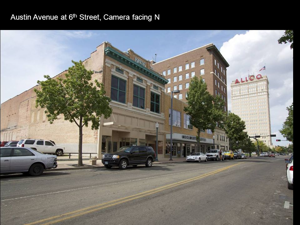 Austin Avenue at 6 th Street, Camera facing N