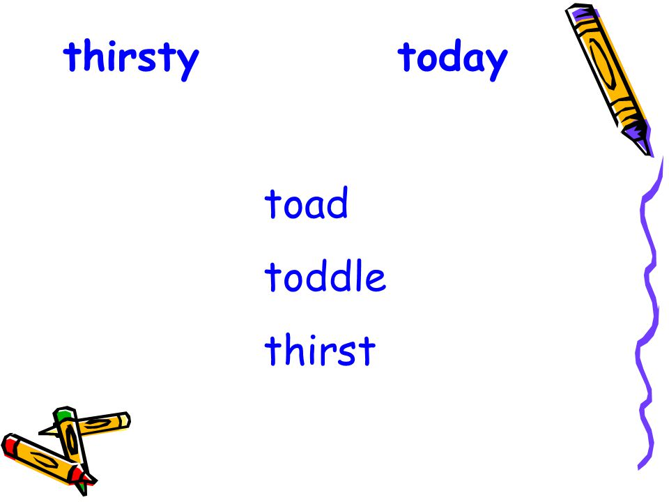 thirstytoday toad toddle thirst