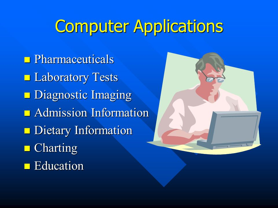 Computers in Health Care Hospital Information Systems