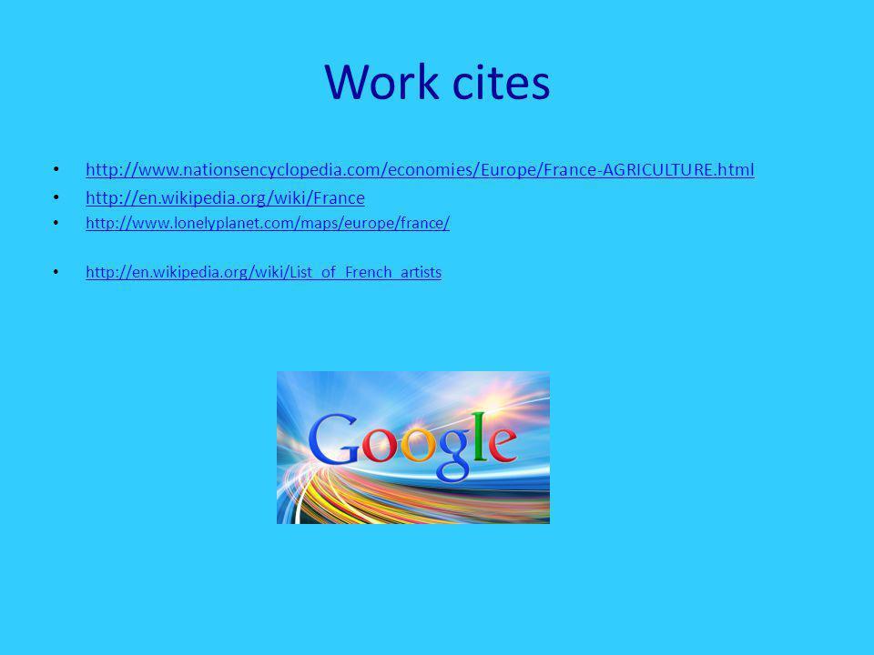 work cites