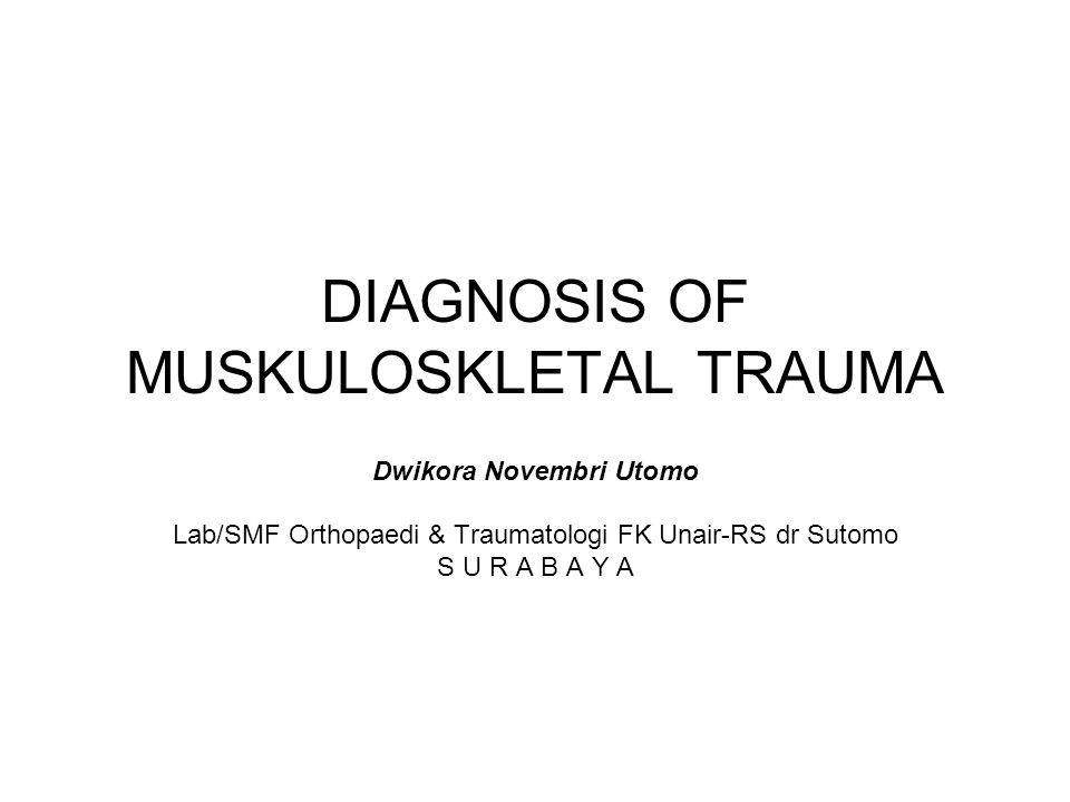 FRACTURES OF THE SPINE Cervical Dislocation Thorax Dislocation