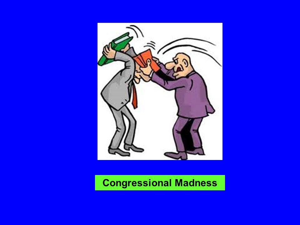 Congressional Madness