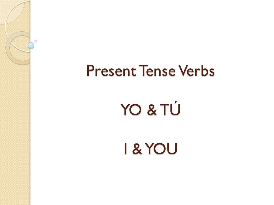 For regular verbs that end in AR, the ending of the él, ella and usted form is A, and we follow the same process.