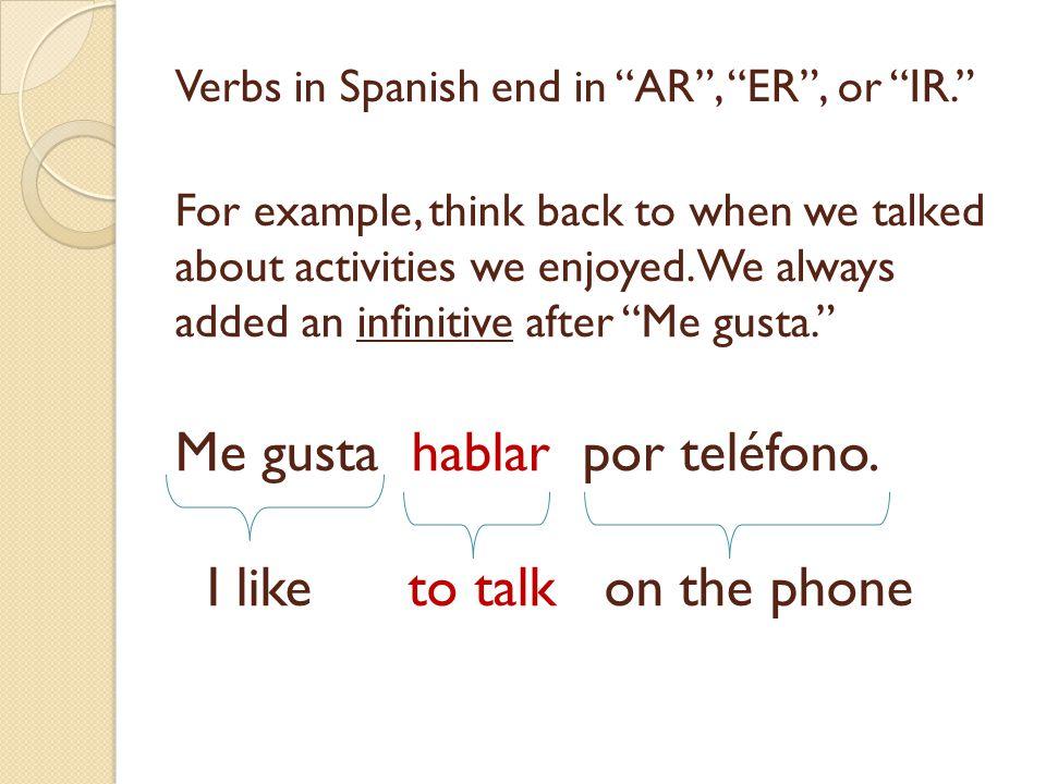 Translate the following on your white board: He studies art. Él estudia arte.