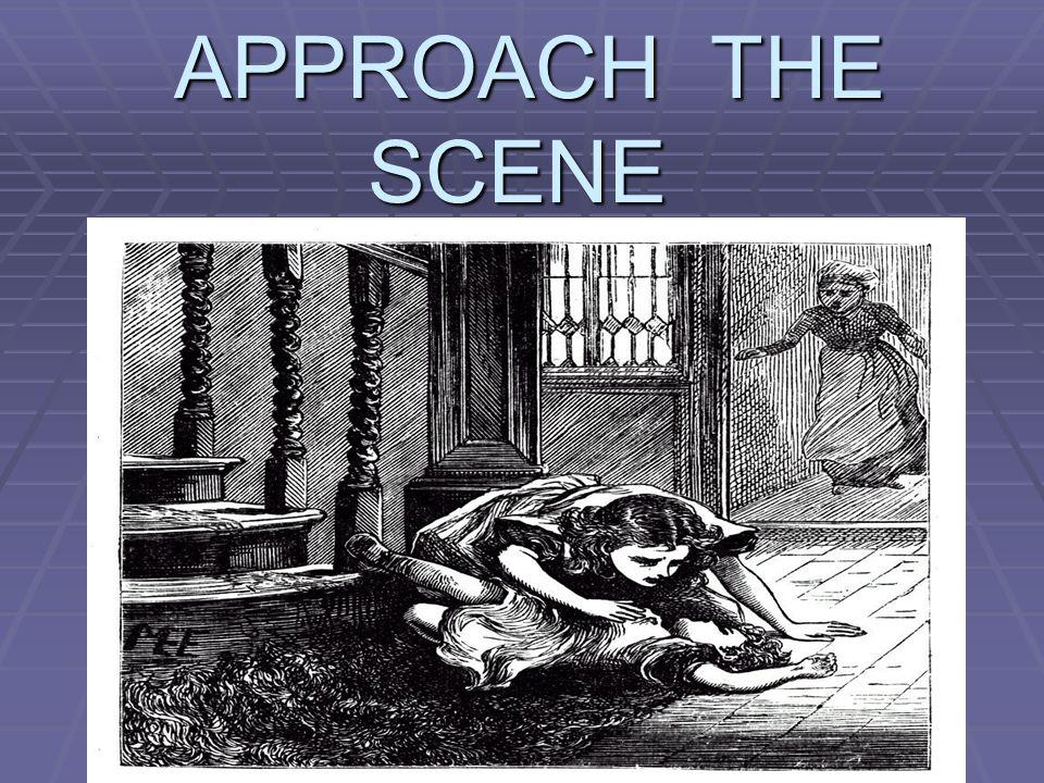 APPROACH THE SCENE APPROACH THE SCENE
