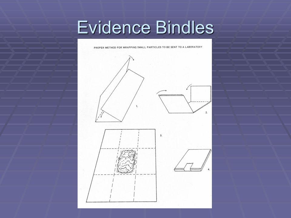 Evidence Bindles