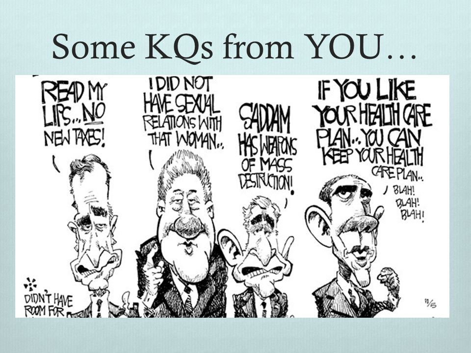 Some KQs from YOU…