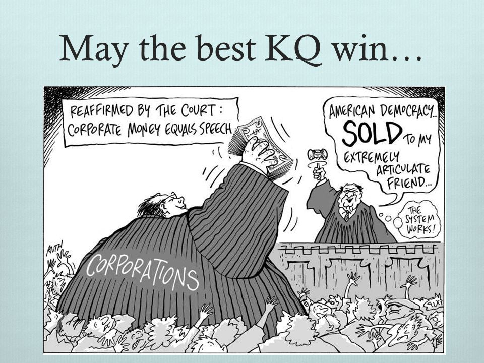 May the best KQ win…