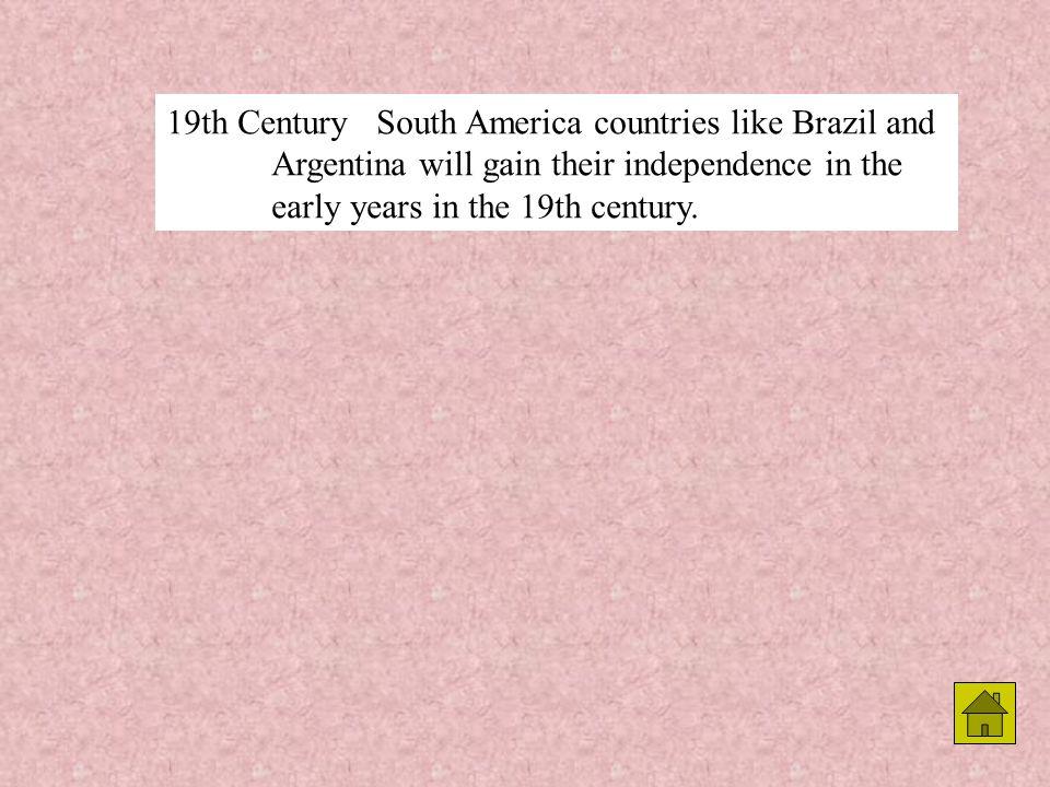 1783Simon Bolivar, South American liberator was born in Venezuela.