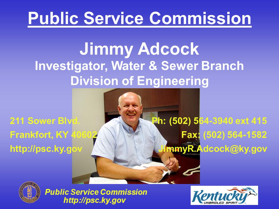 Public Service Commission http://psc.ky.gov Questions