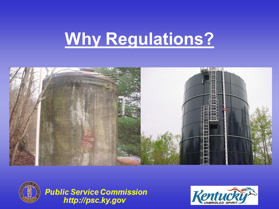 Public Service Commission http://psc.ky.gov or This This Why Regulations