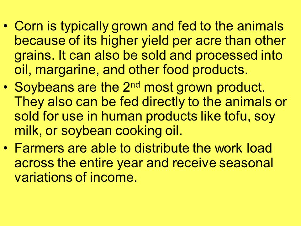 Subsistence Farming and International Trade To expand production, subsistence farmers need higher yield seeds, fertilizer, pesticides, and machinery.