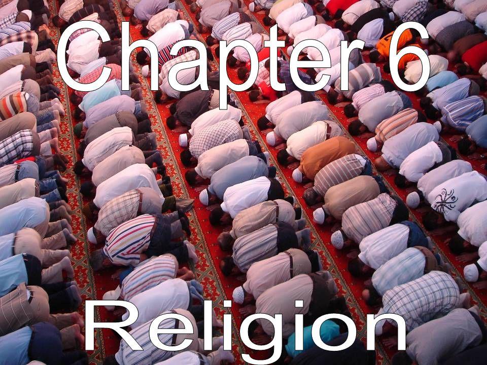 Chapter 6 Vocabulary AnimismFundamentalism BranchMonotheism DenominationPolytheism Ethnic ReligionUniversalizing Religion