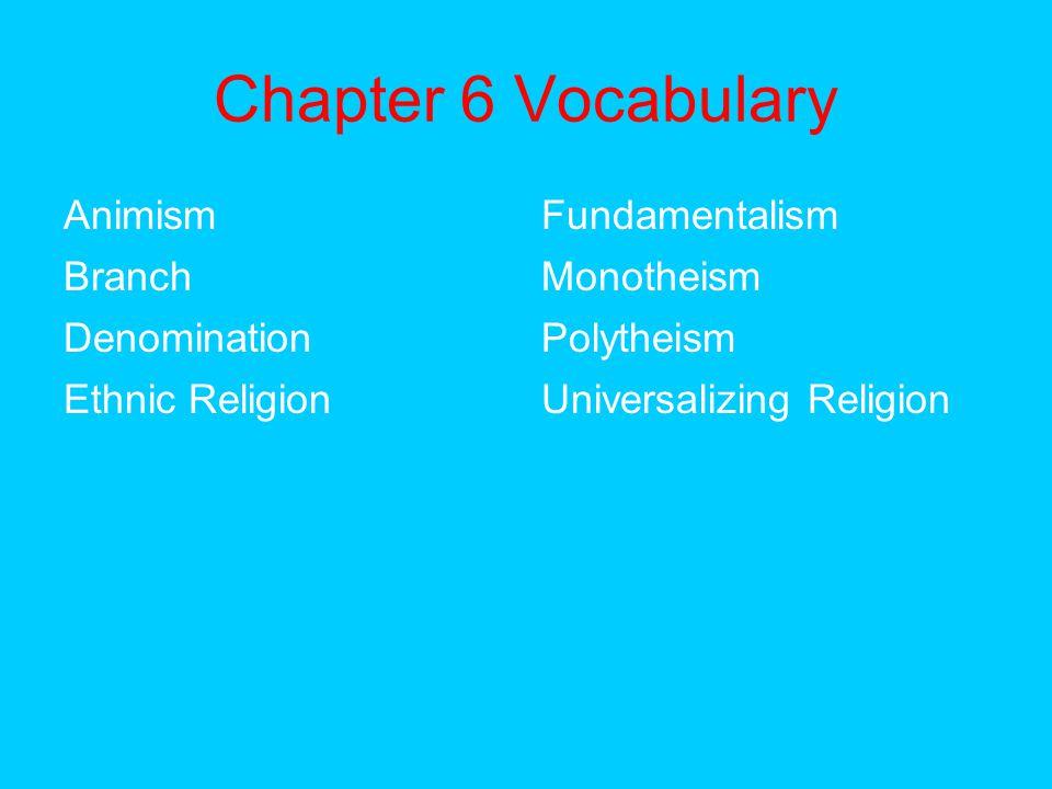 Protestant Denominations