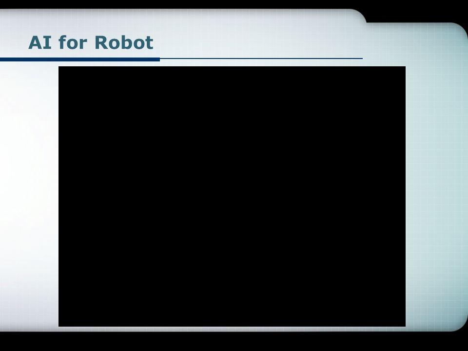 AI for Robot
