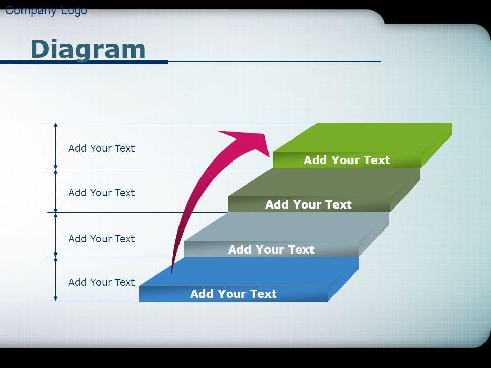 Company Logo Diagram Add Your Text