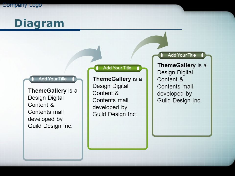 Company Logo Diagram Add Your Title ThemeGallery is a Design Digital Content & Contents mall developed by Guild Design Inc.