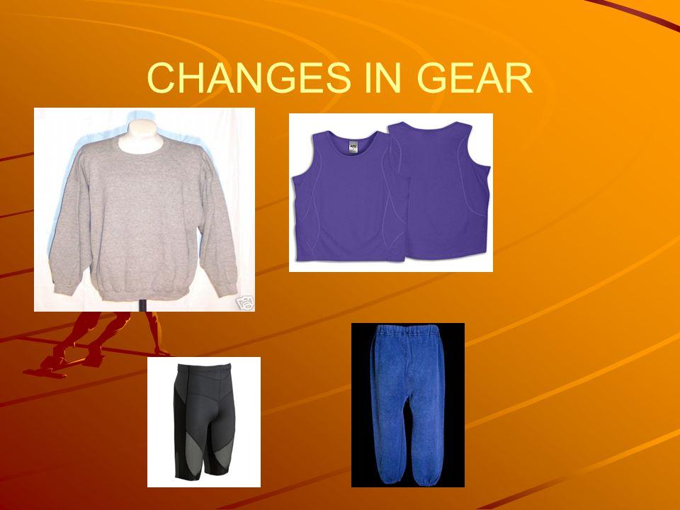 CHANGES IN GEAR