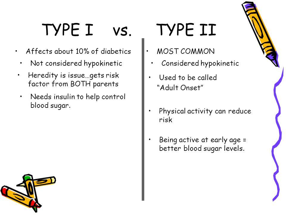TYPE I vs.