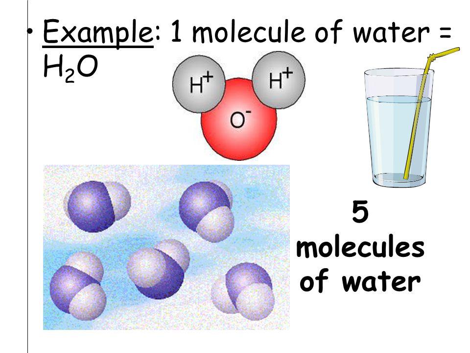 Molecules moving (have KE)