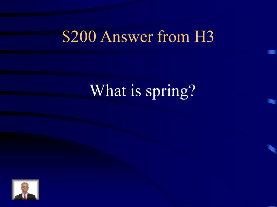 $200 Question from H3 When does it thunderstorm.