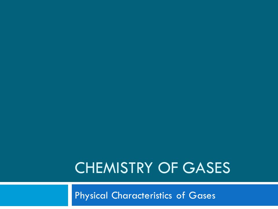 The Kinetic-Molecular Theory of Matter Gases