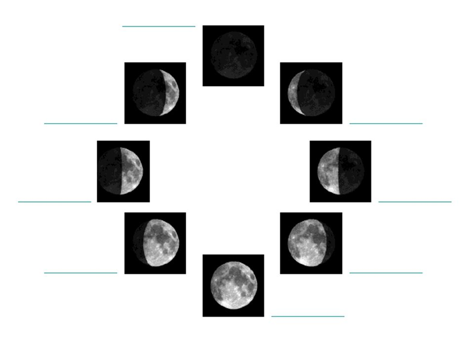 moon phases worksheet pdf - Khafre