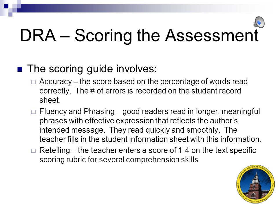 DRA – Conference Formats Levels 18 and above (15-20 minutes)  Child reads complete story silently.