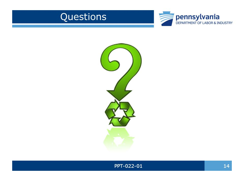 PPT-022-01 14 Questions
