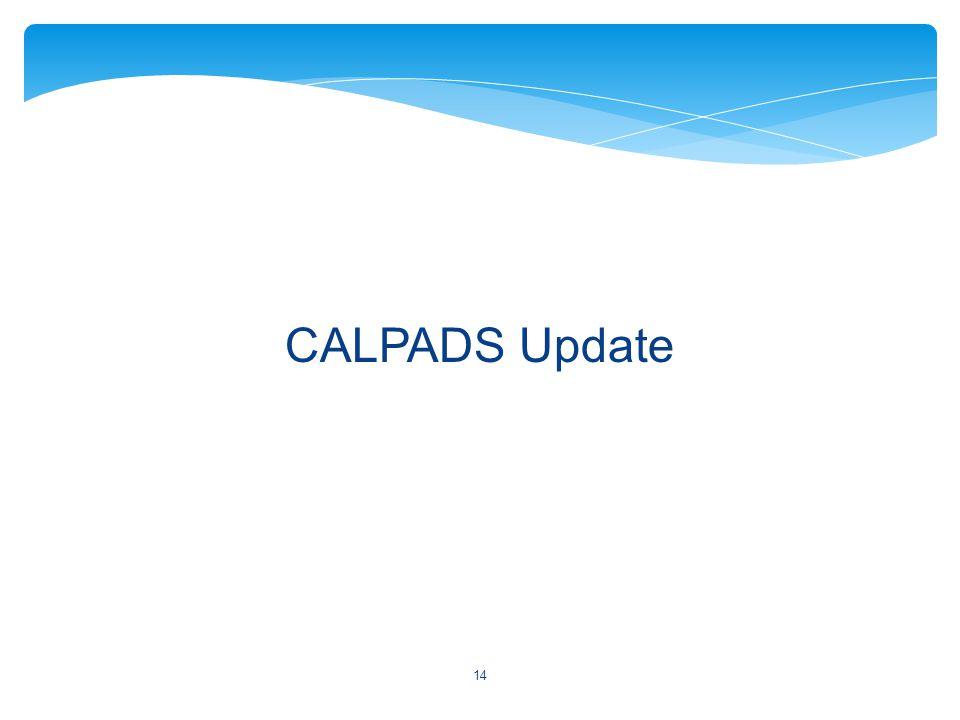 CALPADS Update 14