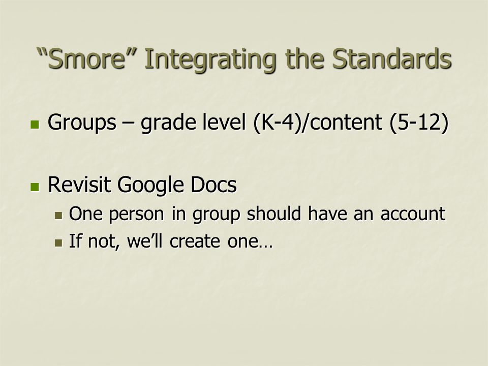 Integrating the Standards You have some wicked, awesome skills! Napolean Dynomite Napolean Dynomite