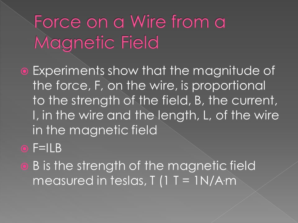  Charged particles don't have to be confined to a wire, they can also move in a vacuum.
