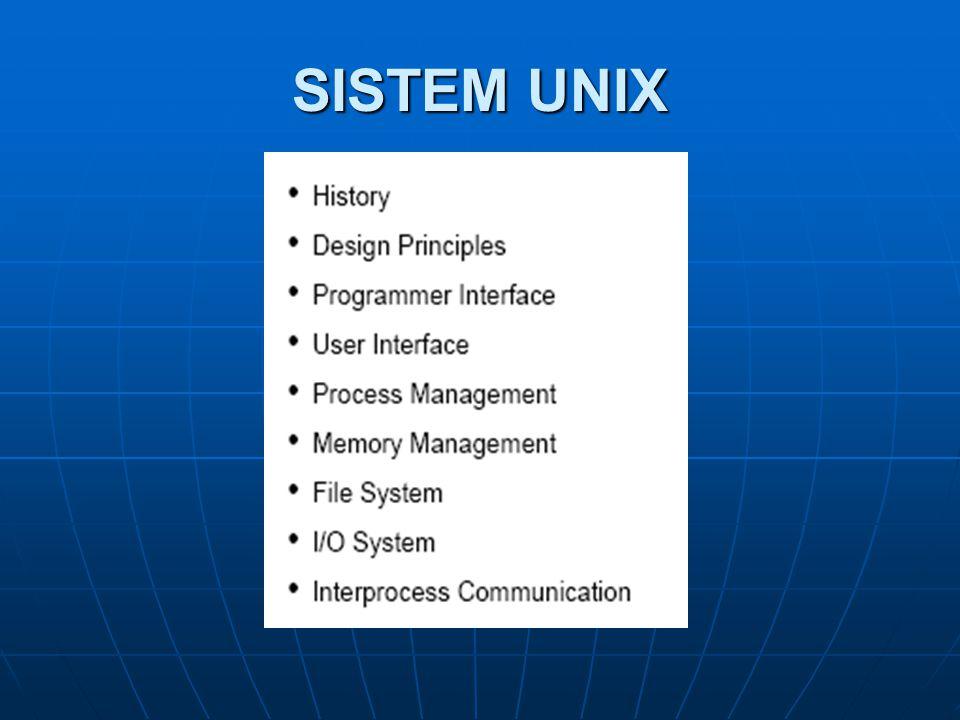 SISTEM UNIX