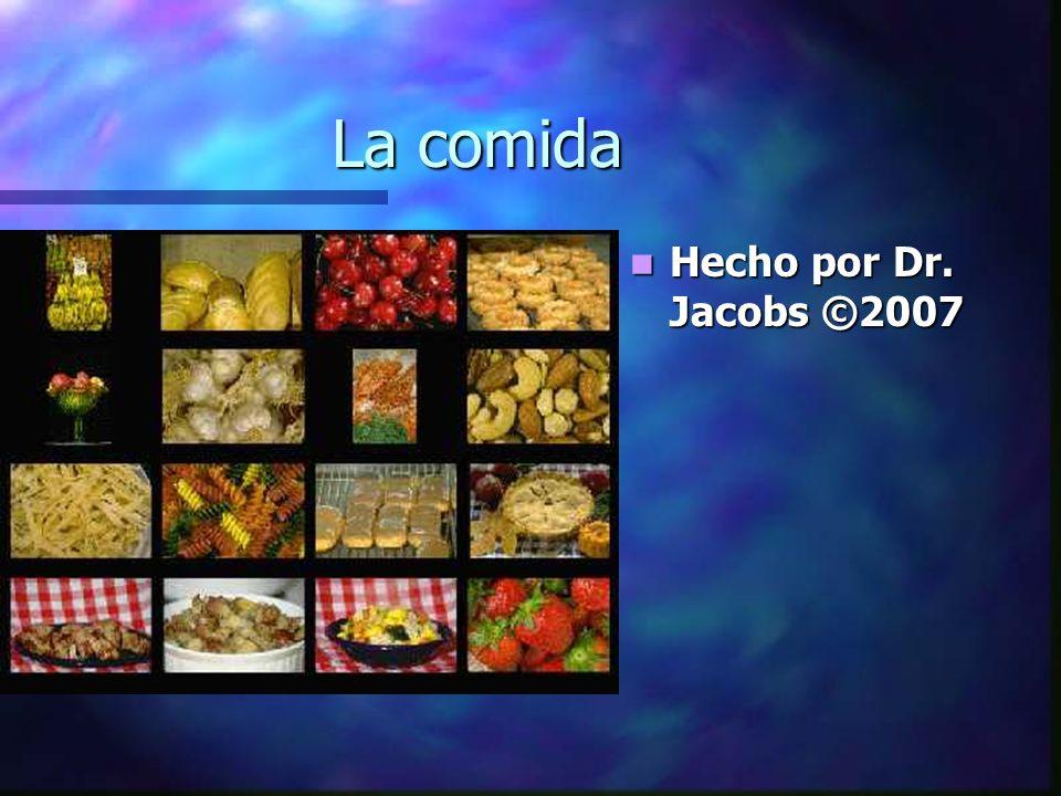 La comida Hecho por Dr. Jacobs ©2007