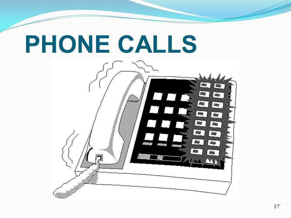 PHONE CALLS 37