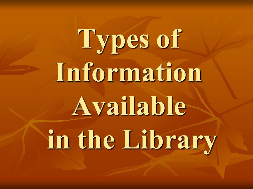 Sources of Information Reference Materials Reference Materials Books Books Periodicals Periodicals World Wide Web World Wide Web