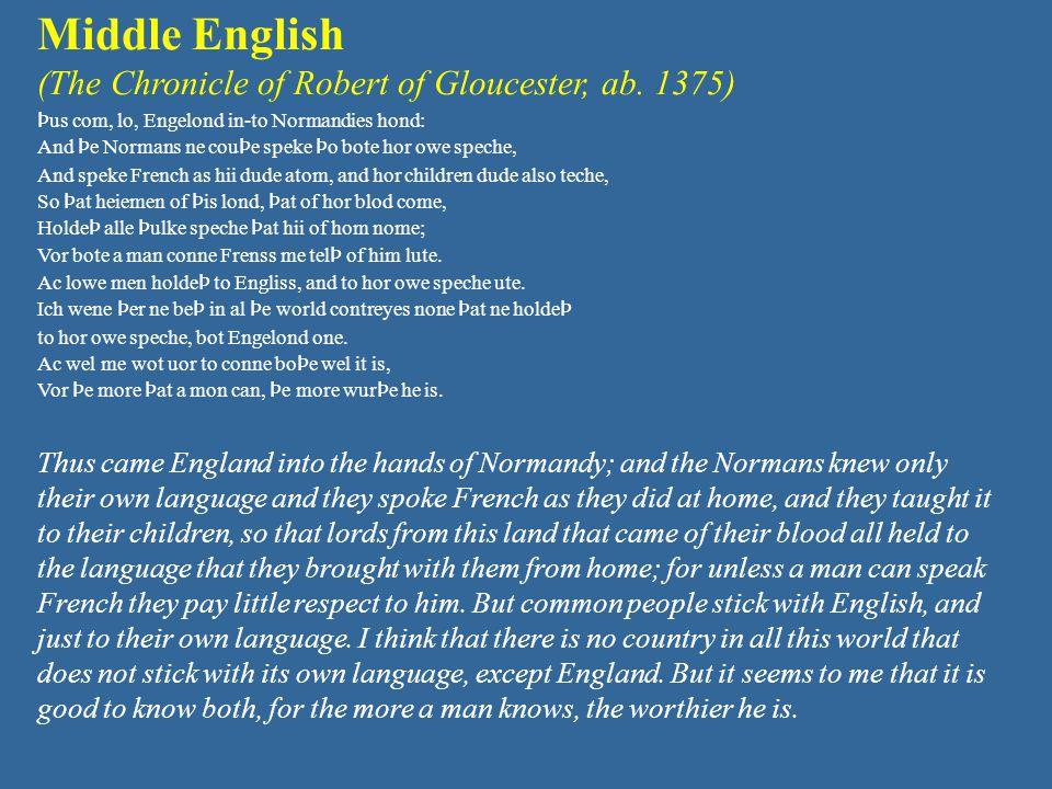 English one language? or many?