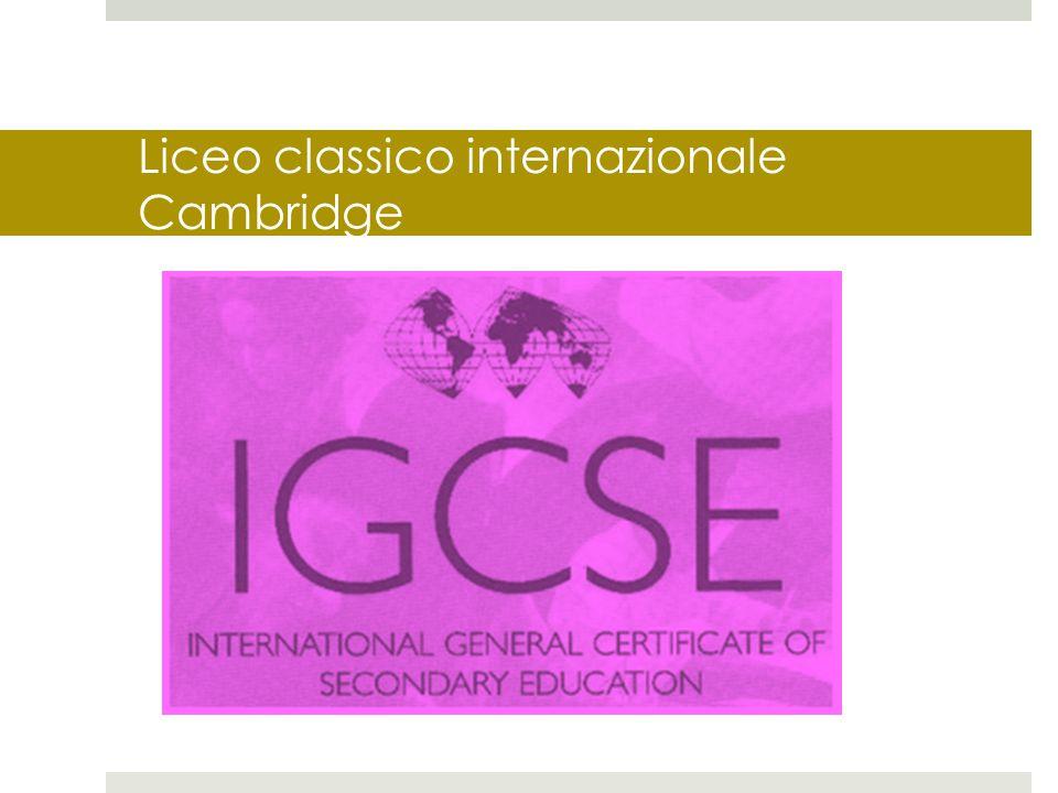 Liceo classico internazionale Cambridge