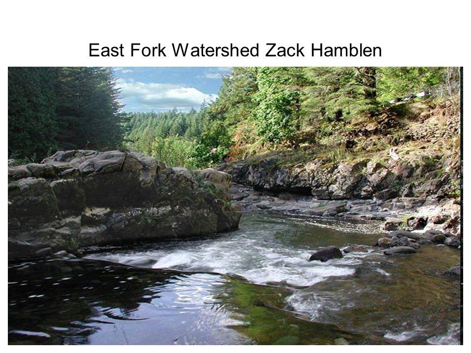 East Fork Watershed Zack Hamblen
