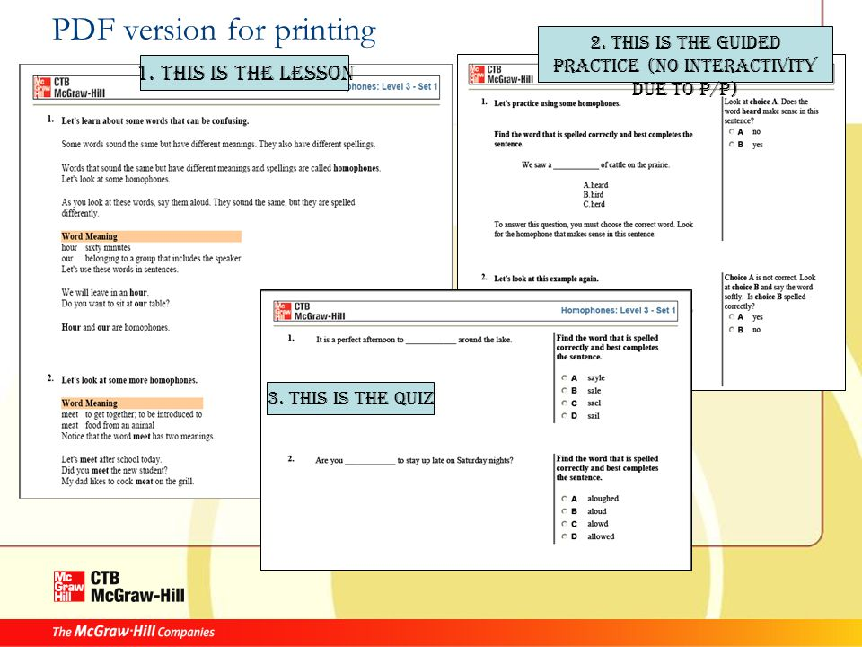 PDF version for printing 1. This is the lesson 2.