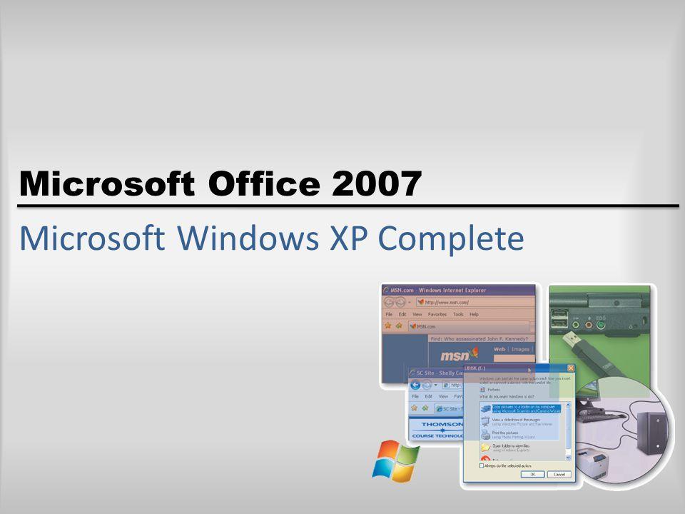 Microsoft Office 2007 Microsoft Windows XP Complete
