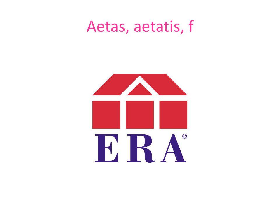 Aetas, aetatis, f