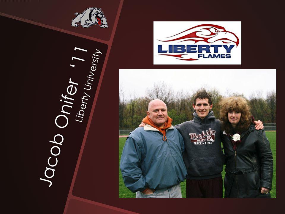 Jacob Onifer '11 Liberty University