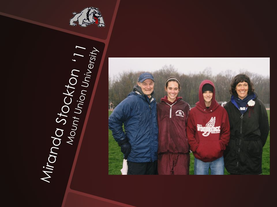 Miranda Stockton '11 Mount Union University