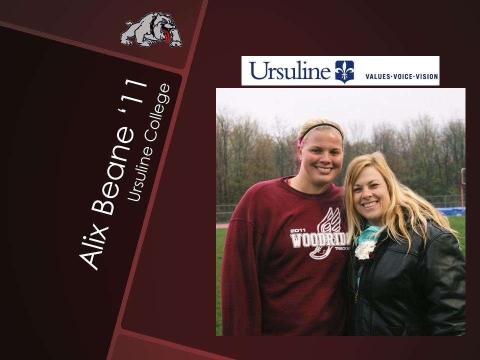 Alix Beane '11 Ursuline College