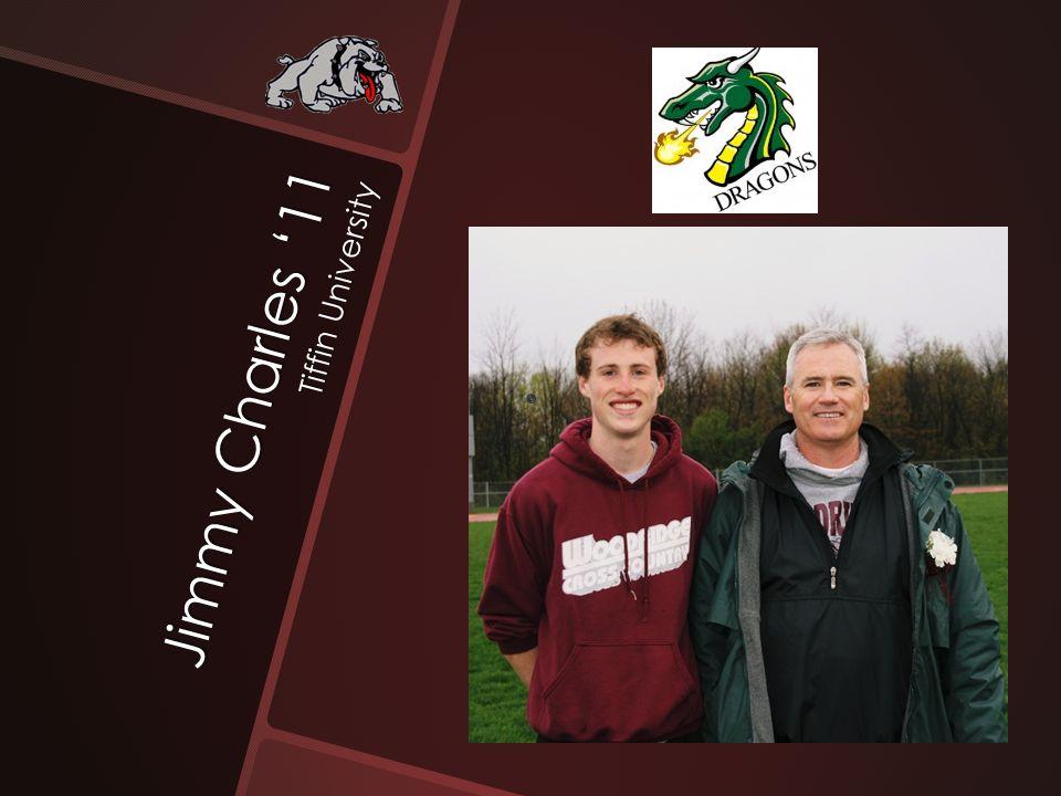 Jimmy Charles '11 Tiffin University