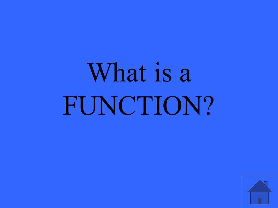 A preprogrammed formula in a spreadsheet